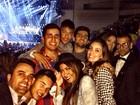 Neymar vai com irmã e amigos a show de Beyoncé em Barcelona