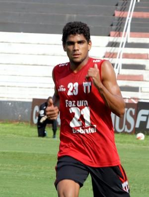 Daniel Borges, ala direito do Botafogo-SP (Foto: Cleber Akamine)