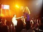 Beyoncé leva a filha ao seu show em Londres e canta para ela