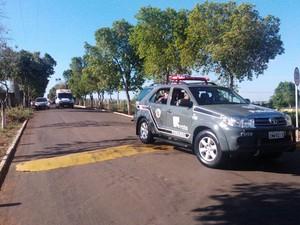 Chefe de facção estava no presídio de segurança máxima desde 29 de outubro (Foto: Murilo Zara/TV Fronteira)