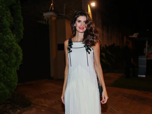 Isabella Fiorentino em evento em São Paulo (Foto: Manuela Scarpa/ Brazil News)
