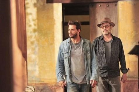 Cassiano (Henri Castelli) e Duque (Jean Pierre Noher) (Foto: Divulgação)