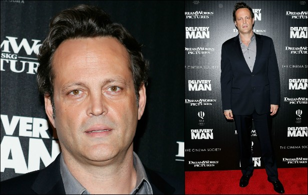 "Vince Vaughn é um ""grande"" comediante de 1,96m. (Foto: Getty Images)"
