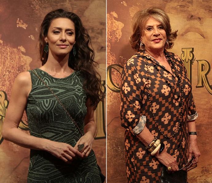 Estelita é interpretada por Maria Fernanda Cândido e Carmem Verônica (Foto: Isabella Pinheiro/ Gshow)