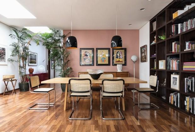A casa de Nathalie Lenci, diretora da Christie´s (Foto: Ruy Teixeira)