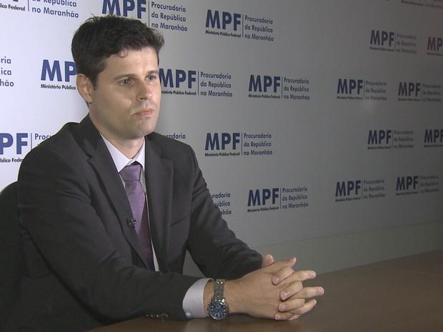 Procurador da República no Maranhão, Galtiênio da Cruz Paulino (Foto: Reprodução / TV Mirante)