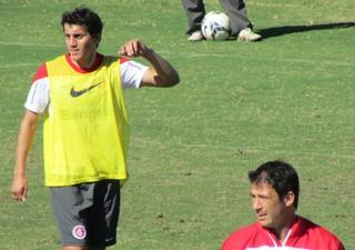 Índio Luque Inter (Foto: Tomás Hammes / GloboEsporte.com)