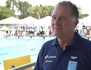 Rômulo Noronha, coordenador de natação da CBDA (Foto: Reprodução / TV Cabo Branco)