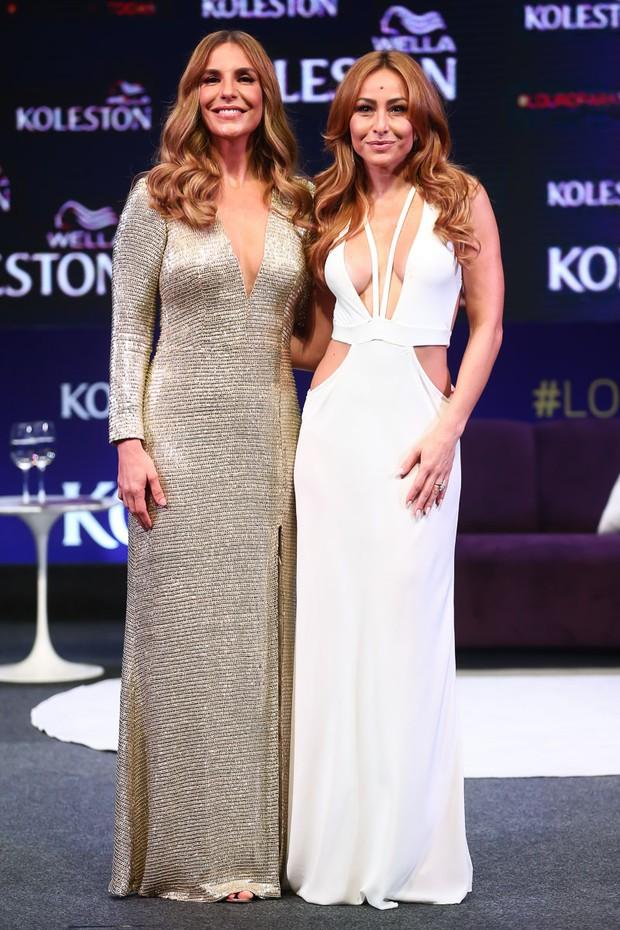 Ivete Sangalo e Sabrina Sato (Foto: Manuela Scarpa/Brazil News)