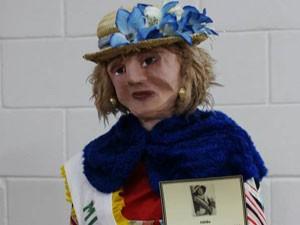 Gilda vivia nas portas dos cinemas da cidade e foi uma das retratadas (Foto: Joyce Miranda)