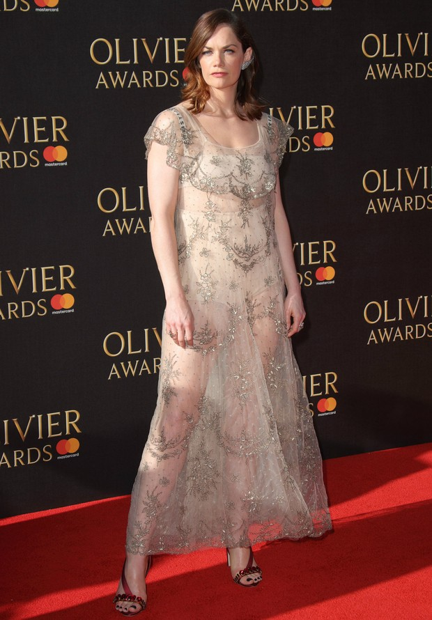 Ruth Wilson no Olivier Awards, em Londres (Foto: Getty Images)