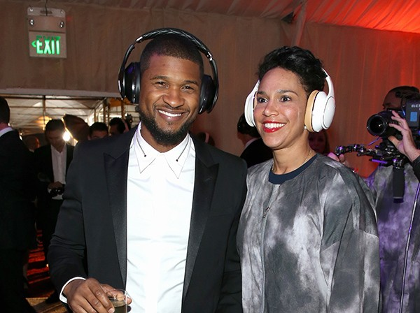 Usher e Grace Miguel (Foto: Getty Images)