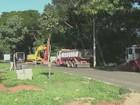 Avenida Renato Wagner é interditada para revitalização em Piracicaba, SP