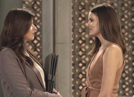 Teaser: Luíza enfrenta Maria Pia sobre ida de Eric à Strass
