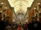 Missa do galo lota Igreja da Sé em celebração de Natal, em Belém