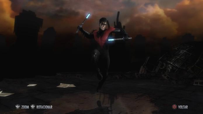 Skins de Injustice: Asa Noturna New 52 (Foto: Reprodução/Felipe Vinha)