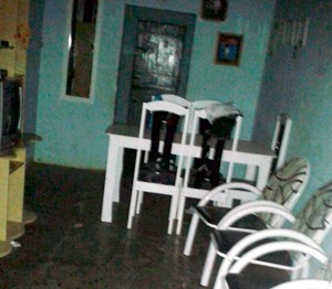 Cozinheira foi morta na sala de casa (Foto: Divulgação/Polícia Civil do RN)