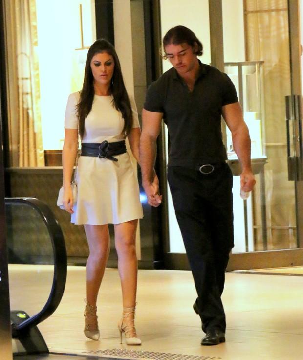 Thor Batista com Namorada (Foto: AgNews  / AgNews)
