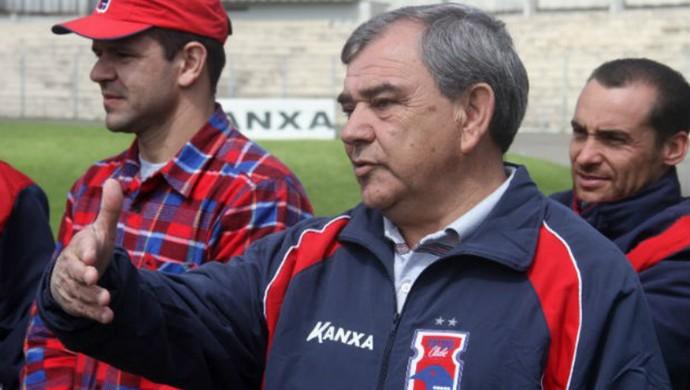 Luiz Carlos Casagrande Presidente do Paraná Clube (Foto: Gabriel Hamilko)