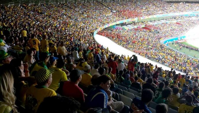 Bélgica x Argélia - mineirão (Foto: Marcelo Jordy)