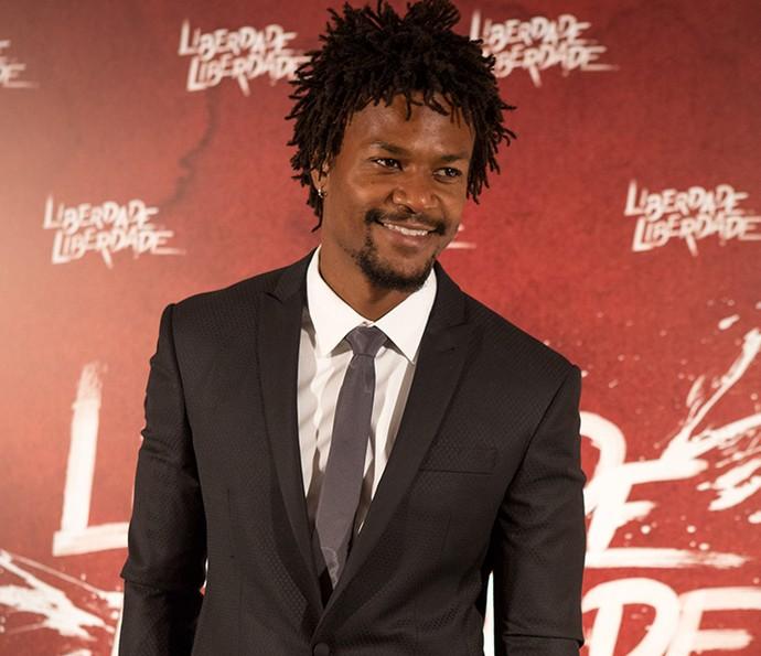 David Junior conseguiu o papel em 'Liberdade, Liberdade' depois de três testes (Foto: Fabiano Battaglin / Gshow)