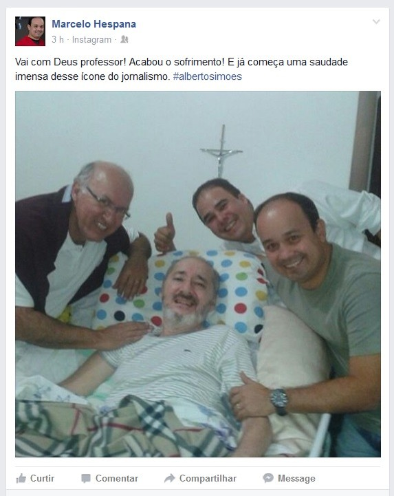 Marcelo Hespana Alberto Simões (Foto: Reprodução/Facebook)