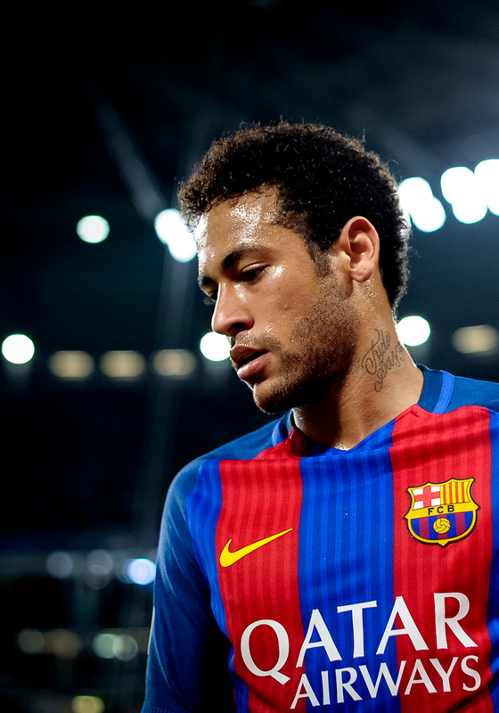 O jogador Neymar (Foto:  Nicolò Campo/LightRocket via Getty Images)