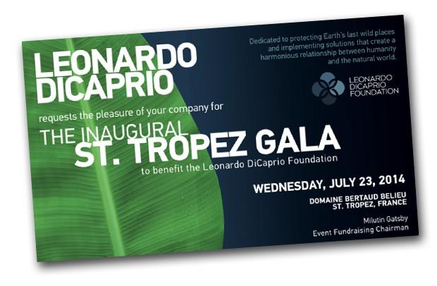 Convite Leonardo DiCaprio (Foto:     )