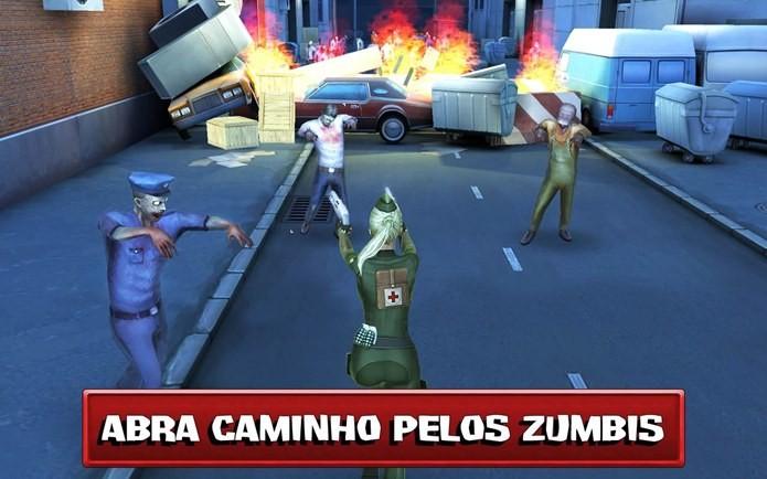 Corra e atire neste jogo de zumbis (Foto: Divulgação)