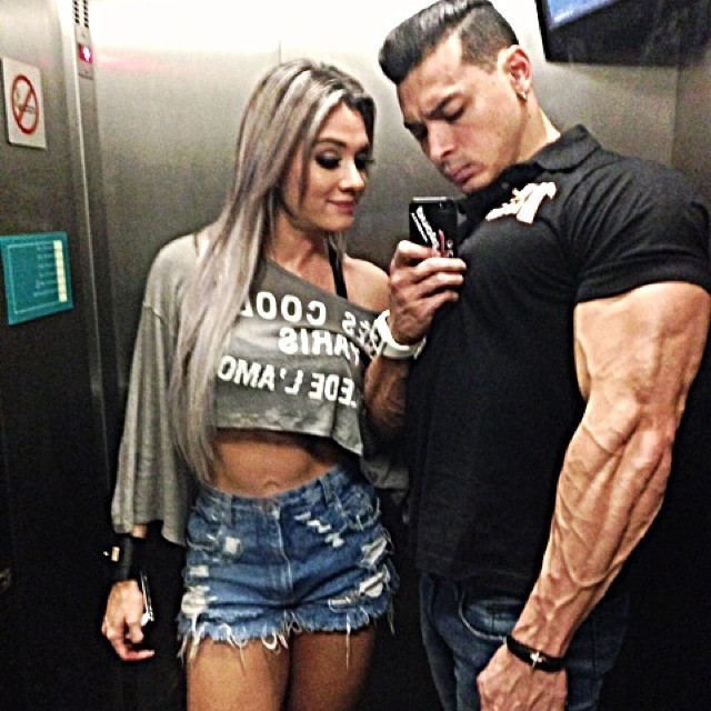 Juju Salimeni e Felipe Franco (Foto: Reprodução/Instagram)