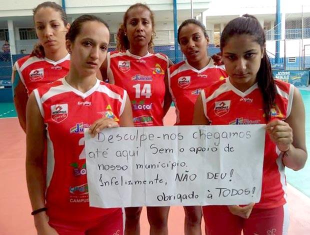Unidiv União Divinopolitana de Voleibol time de vôlei de Divinópolis MG (Foto: Divulgação/Unidiv)