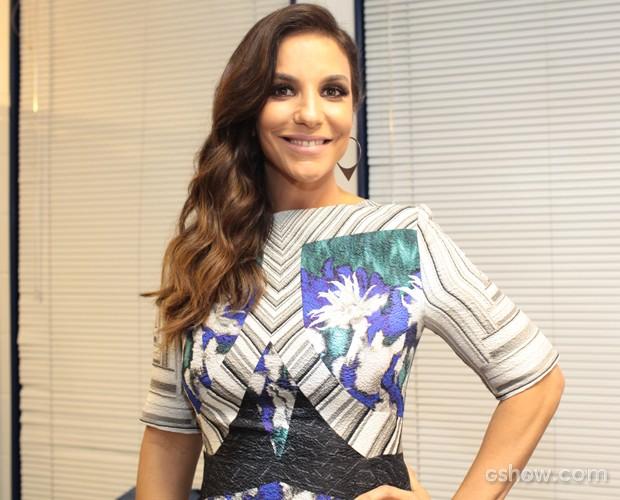look Ivete Sangalo (Foto: Dafne Bastos/ TV Globo)