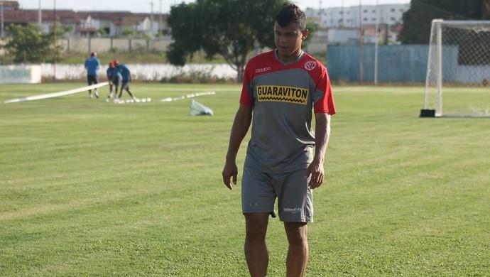 Gabriel lateral-direito América-RN (Foto: Canindé Pereira/Divulgação)