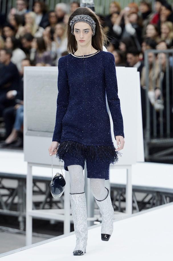 Desfile inverno 16/17 da Chanel (Foto: Getty Images)