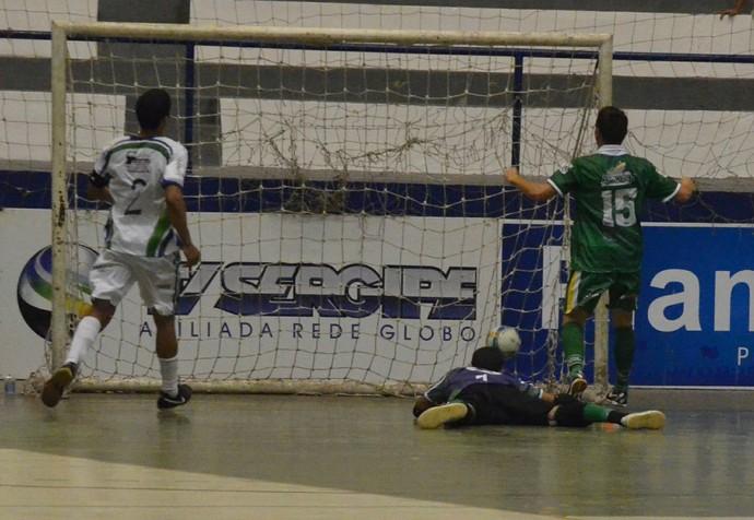 Aracaju x General Maynard, Copa TV Sergipe de futsal 2014 (Foto: João Áquila/GLOBOESPORTE.COM)