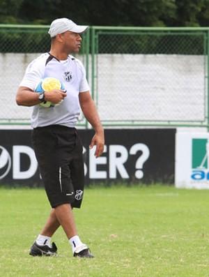 Sérgio Soares comanda último treino antes de viagem a Natal (Foto: Foto: Divulgação/Cearasc.com)