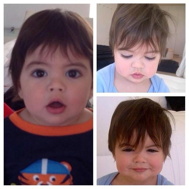 Filho da Shakira, Milan (Foto: Instagram / Reprodução)