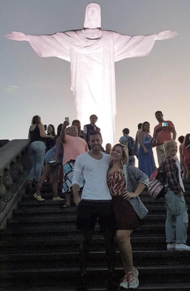 Matheus Lisboa e Cacau (Foto: Reprodução/Instagram)