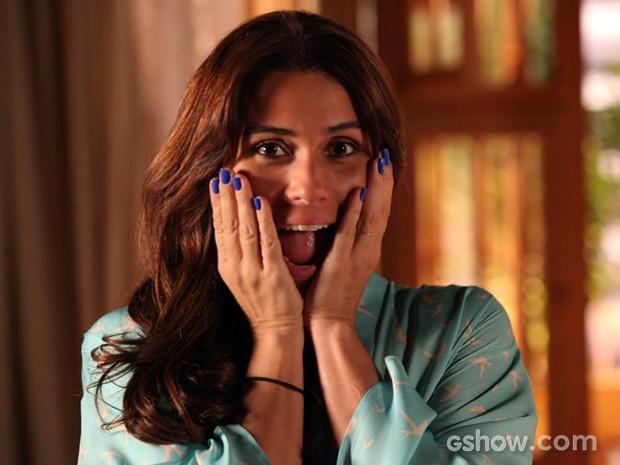Os esmaltes usados por Clara viraram febre entre as mulheres (Foto: Carol Caminha / TV Globo)