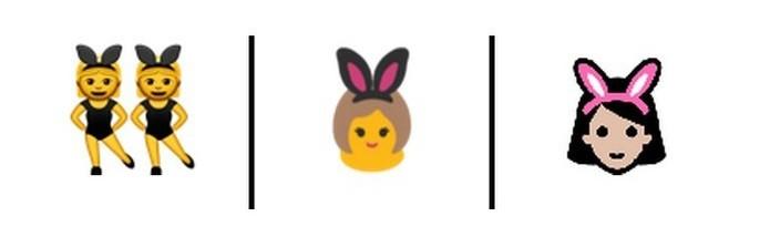 Emoji das coelhinhas não deveria ter conotação sexual (Foto: Reprodução/Unicode)