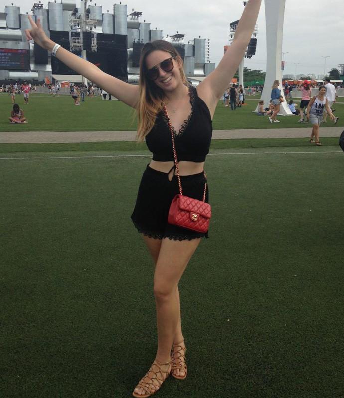 Gabriela Motaf az a linha mais arrumadinha e se considera uma 'patricinha do rock' (Foto: Carolina Morgado / Gshow)