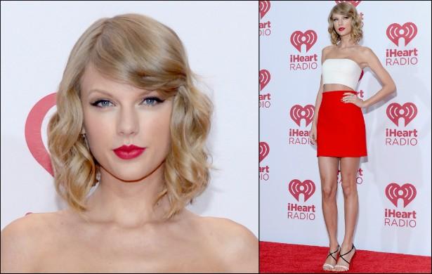 Que pernas! A popstar Taylor Swift tem 1,78m de altura. (Foto: Getty Images)