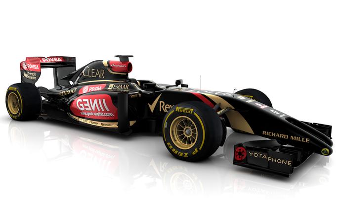 E22 Lotus 2014 (Foto: Divulgação/twitter)