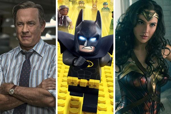 O ator Tom Hanks, a animação LEGO Batman - O Filme e Mulher-Maravilha foram alguns dos esquecidos pela Academia em 2018 (Foto: Reprodução)