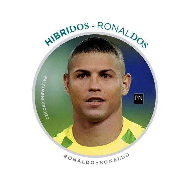 Ronaldos, mistura de Cristiano Ronaldo com Ronaldo