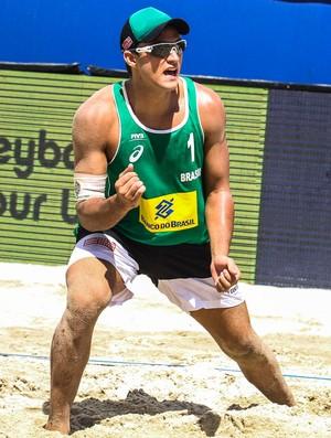 george, vôlei de praia (Foto: Divulgação / FIVB)