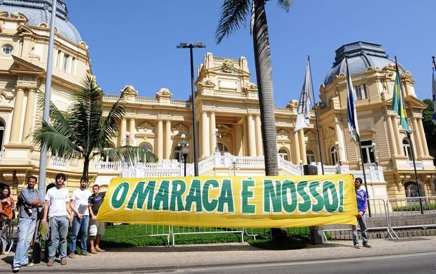 Licitação Maracanã (Foto: Alexandre Durão)