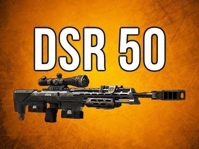 DSR 50 é a única sniper da lista (Foto: Reprodução/YouTube)