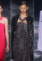 Andrea Marques traz um inverno de ombros à mostra para o Fashion Rio