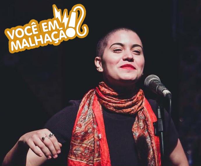Gabriela Reis fois selecionada para participar de uma cena! (Foto: Arquivo pessoal)